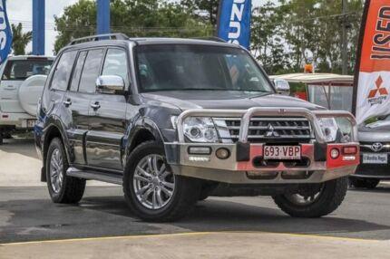 2014 Mitsubishi Pajero NX MY15 GLX Grey 5 Speed Sports Automatic Wagon Aspley Brisbane North East Preview