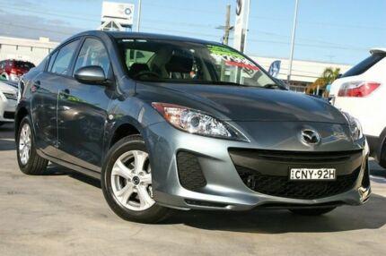 2012 Mazda 3 BL10F2 Neo Grey 6 Speed Manual Sedan Gymea Sutherland Area Preview