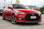 2013 Hyundai Veloster FS3 SR Coupe Turbo Red/Black 6 Speed Sports Automatic Hatchback Hillcrest Logan Area Preview