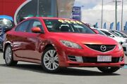 2008 Mazda 6 GH1051 Classic Red 6 Speed Manual Sedan Kedron Brisbane North East Preview
