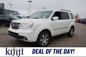 2014 Honda Pilot 4WD TOURING Accident Free,  Navigation (GPS),