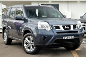 2013 Nissan X-Trail T31 Series V ST Blue 1 Speed Constant Variable Wagon Gosford Gosford Area Preview