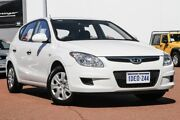 2009 Hyundai i30 FD MY09 SX White 4 Speed Automatic Hatchback East Rockingham Rockingham Area Preview