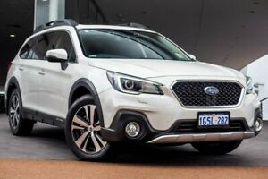 2018 Subaru Outback B6A MY18 2.5i CVT AWD Premium Crystal White 7 Speed Constant Variable Wagon Wangara Wanneroo Area Preview
