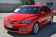 2008 Mazda 3 BK1032 SP23 Red 6 Speed Manual Hatchback Redan Ballarat City Preview
