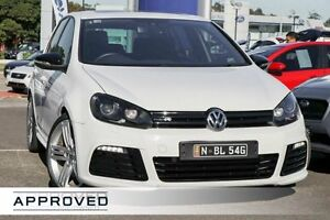 2010 Volkswagen Golf VI MY10 R 4MOTION White 6 Speed Manual Hatchback Brookvale Manly Area Preview