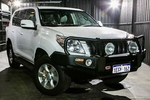 2013 Toyota Landcruiser Prado KDJ150R GXL White 5 Speed Sports Automatic Wagon Wangara Wanneroo Area Preview