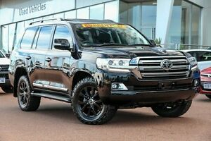 2016 Toyota Landcruiser VDJ200R Sahara Eclipse Black 6 Speed Sports Automatic Wagon Wangara Wanneroo Area Preview
