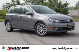 2011 Volkswagen Golf Highline TDI BC CAR, SUPER LOW KM, MANUAL!