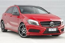 2015 Mercedes-Benz A200 176 MY15 BE Red 7 Speed Sports Automatic Dual Clutch Hatchback Ringwood East Maroondah Area Preview