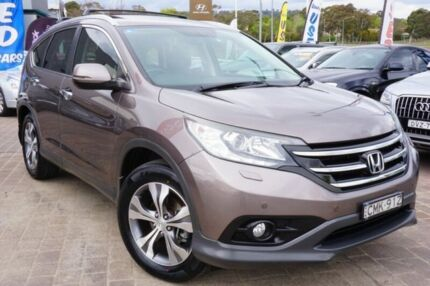 2013 Honda CR-V RM VTi-L 4WD Gold 5 Speed Automatic Wagon Pearce Woden Valley Preview