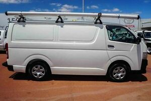 2011 Toyota Hiace TRH201R MY11 LWB White 5 Speed Manual Van Westminster Stirling Area Preview