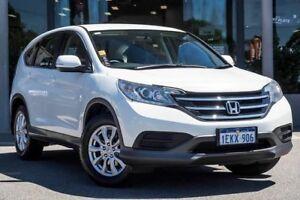 2014 Honda CR-V RM MY15 VTi Navi White 5 Speed Automatic Wagon