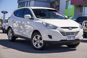 2012 Hyundai ix35 LM MY12 Active White 6 Speed Sports Automatic Wagon Myaree Melville Area Preview