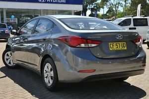 2015 Hyundai Elantra MD Series 2 (MD3) Active Grey 6 Speed Automatic Sedan Zetland Inner Sydney Preview