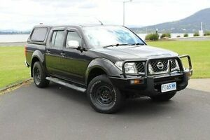 2008 Nissan Navara D40 ST-X Black 5 Speed Automatic Utility Invermay Launceston Area Preview