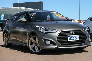 2014 Hyundai Veloster FS3 SR Coupe Turbo Grey 6 Speed Sports Automatic Hatchback East Rockingham Rockingham Area Preview