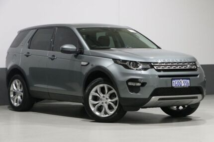 2015 Land Rover Discovery Sport LC MY16 Td4 HSE Grey 9 Speed Automatic Wagon Bentley Canning Area Preview