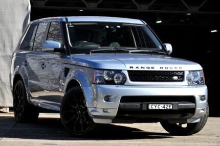 2012 Land Rover Range Rover MY12 Sport 3.0 SDV6 Luxury Silver 6 Speed Automatic Wagon Mosman Mosman Area Preview