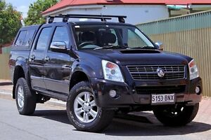 2008 Holden Rodeo RA MY08 LT Crew Cab Black 4 Speed Automatic Utility Glenelg Holdfast Bay Preview