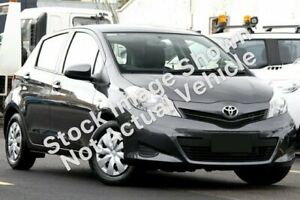 2013 Toyota Yaris NCP130R YR Graphite 5 Speed Manual Hatchback