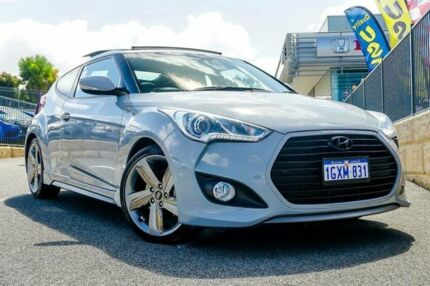 2013 Hyundai Veloster FS2 SR Coupe Grey Manual Hatchback Wangara Wanneroo Area Preview
