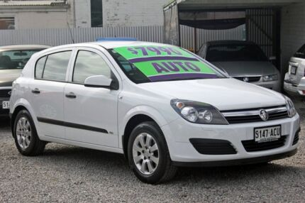 2007 Holden Astra AH MY07 CD White 4 Speed Automatic Hatchback Glenelg East Holdfast Bay Preview