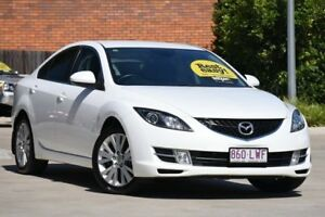 2009 Mazda 6 GH1051 MY09 Classic White 5 Speed Sports Automatic Sedan Toowoomba Toowoomba City Preview
