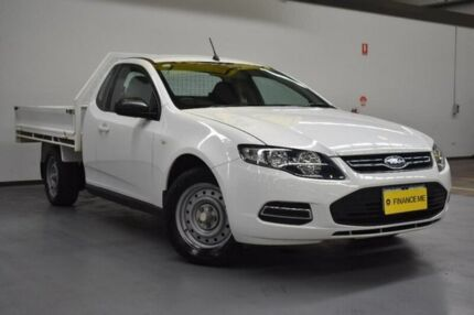 2012 Ford Falcon FG MkII Super Cab Pure White 6 Speed Sports Automatic Cab Chassis