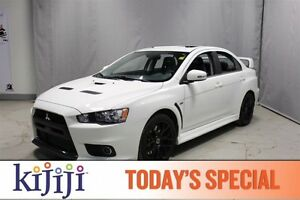 2015 Mitsubishi Lancer Evolution AWC EVOLUTION GSR PR Leather,