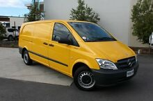 2012 Mercedes-Benz Vito 639 MY11 113CDI LWB Yellow 6 Speed Manual Van Robina Gold Coast South Preview