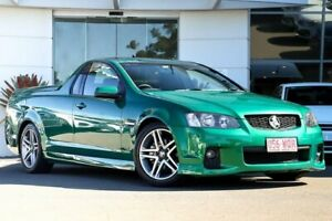 2010 Holden Ute VE MY10 SV6 Green 6 Speed Sports Automatic Utility Kirrawee Sutherland Area Preview