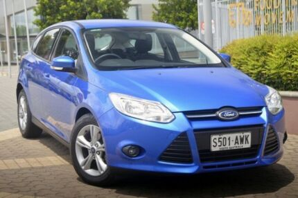 2013 Ford Focus LW MKII Trend PwrShift Blue 6 Speed Sports Automatic Dual Clutch Hatchback Wayville Unley Area Preview