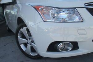 2013 Holden Cruze JH MY14 Equipe White 6 Speed Automatic Sedan