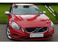 £30 TAX (2012) Volvo V60 1.6 D DRIVe R-Design 5dr (start/stop)** £0 DEPOSIT FINANCE**PART EX WELCOME