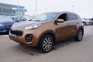 2017 Kia Sportage AWD EX Accident Free,  Heated Seats,  Backup C