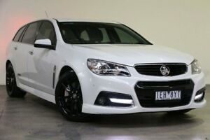2014 Holden Commodore VF MY15 SS V Sportwagon Redline Heron White 6 Speed Sports Automatic Wagon Southbank Melbourne City Preview
