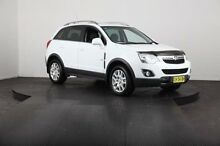 2012 Holden Captiva CG MY12 5 (FWD) White 6 Speed Automatic Wagon Mulgrave Hawkesbury Area Preview