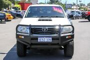 2013 Toyota Hilux KUN26R MY14 SR Double Cab White 5 Speed Manual Utility Myaree Melville Area Preview