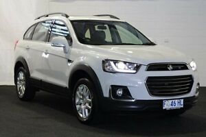 2016 Holden Captiva CG MY16 Active 7 Seater Summit White 6 Speed Automatic Wagon Derwent Park Glenorchy Area Preview