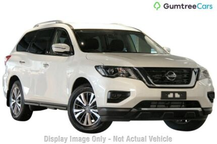 2017 Nissan Pathfinder ST ST Ivory Pearl Constant Variable Wagon