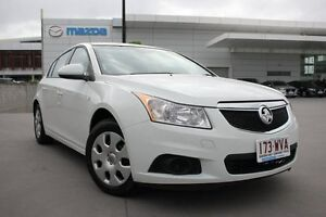 2012 Holden Cruze JH Series II MY13 CD White 6 Speed Sports Automatic Hatchback Maroochydore Maroochydore Area Preview