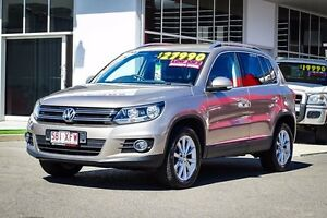 2015 Volkswagen Tiguan 5N MY16 132TSI DSG 4MOTION Titanium Beige 7 Speed Garbutt Townsville City Preview