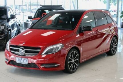 2013 Mercedes-Benz B250 W246 BlueEFFICIENCY DCT Red 7 Speed Sports Automatic Dual Clutch Hatchback