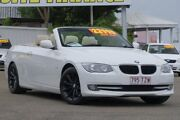 2011 BMW 320d E93 MY11 Steptronic White 6 Speed Sports Automatic Convertible Moorooka Brisbane South West Preview