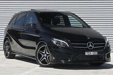 2014 Mercedes-Benz B250  Black Sports Automatic Dual Clutch Hatchback Ringwood East Maroondah Area Preview
