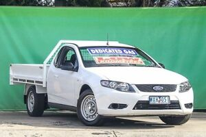 2009 Ford Falcon FG Super Cab White 4 Speed Sports Automatic Cab Chassis Ringwood East Maroondah Area Preview