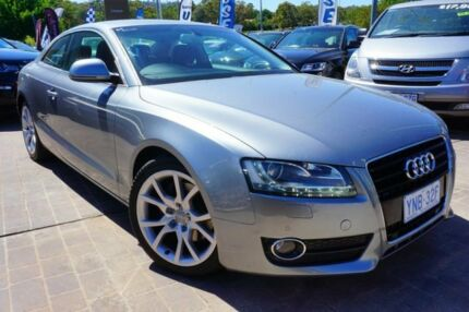 2009 Audi A5 8T MY09 Quattro Silver 6 Speed Sports Automatic Coupe Pearce Woden Valley Preview
