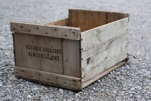 Antique Wooden Crates.