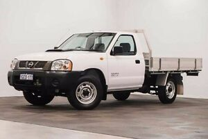 2012 Nissan Navara D22 S5 DX White 5 Speed Manual Cab Chassis Edgewater Joondalup Area Preview